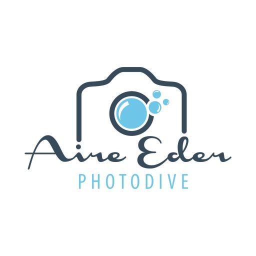 diseño de logotipo para fotógrafa submarina